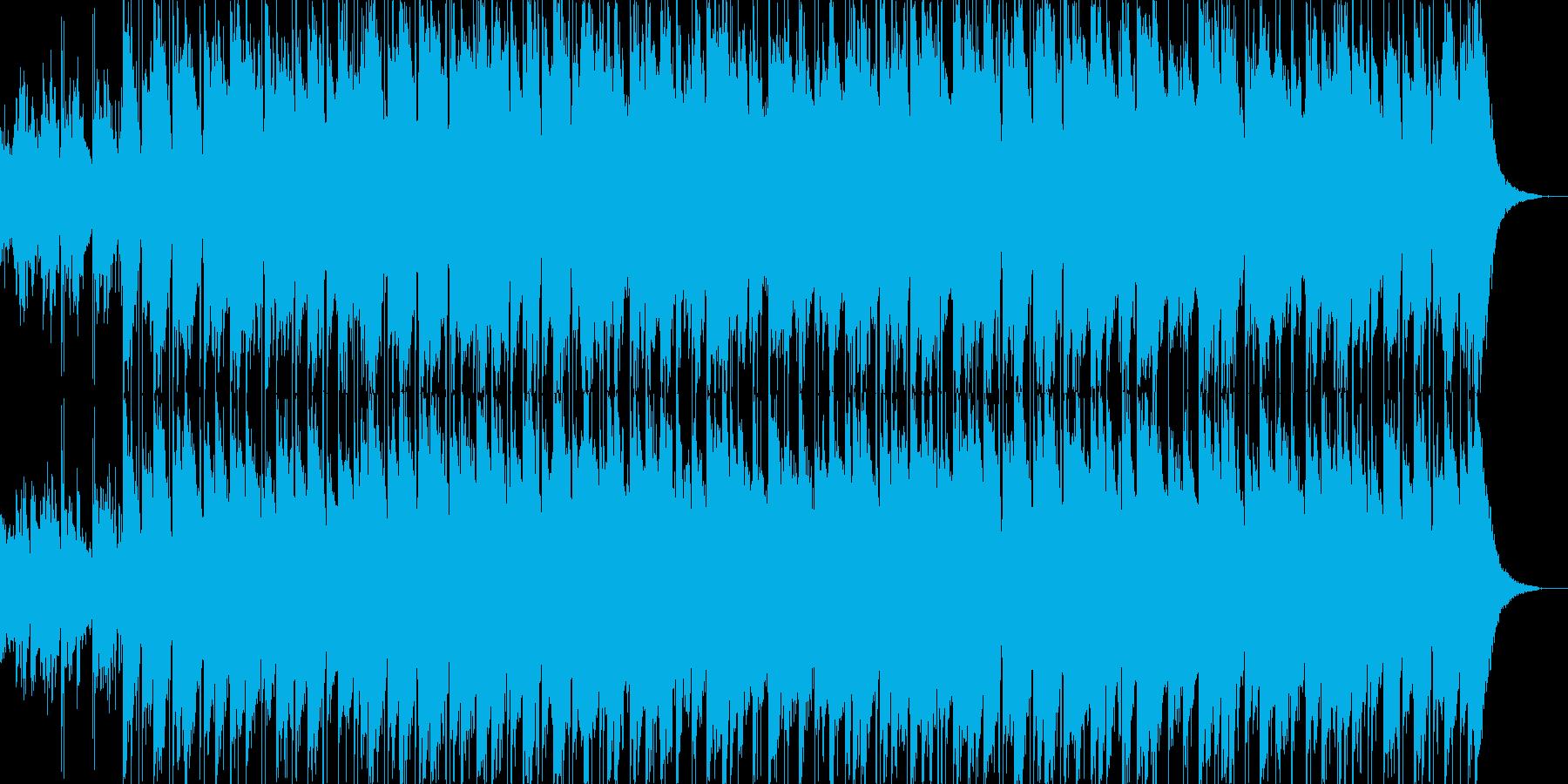 ノルディック系ファンタジー、空間系BGMの再生済みの波形
