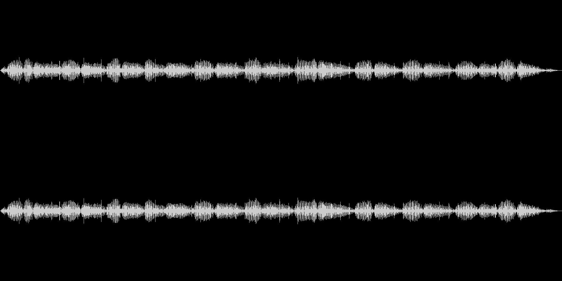 【特殊音】猫のゴロゴロ声の未再生の波形