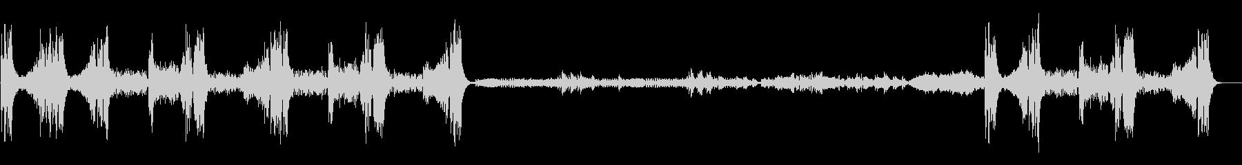 「クープランの墓」から 『リゴドン』の未再生の波形