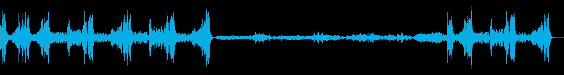 「クープランの墓」から 『リゴドン』の再生済みの波形