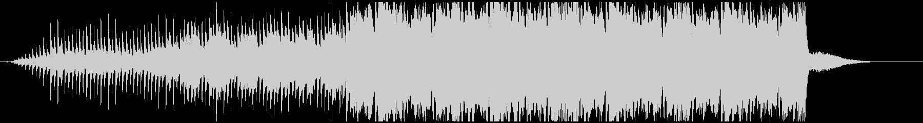 感動的なシーンに合うBGMの未再生の波形
