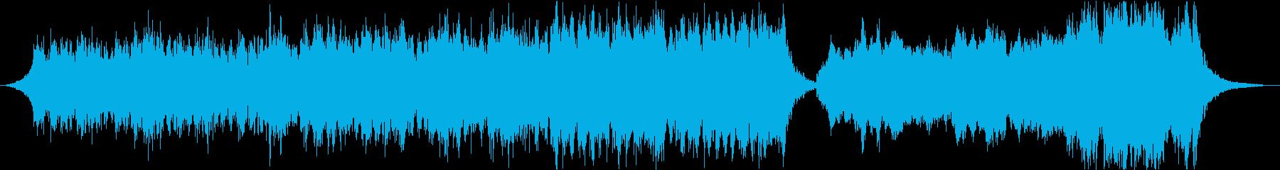 【ハリウッド】アクション・トレーラーの再生済みの波形