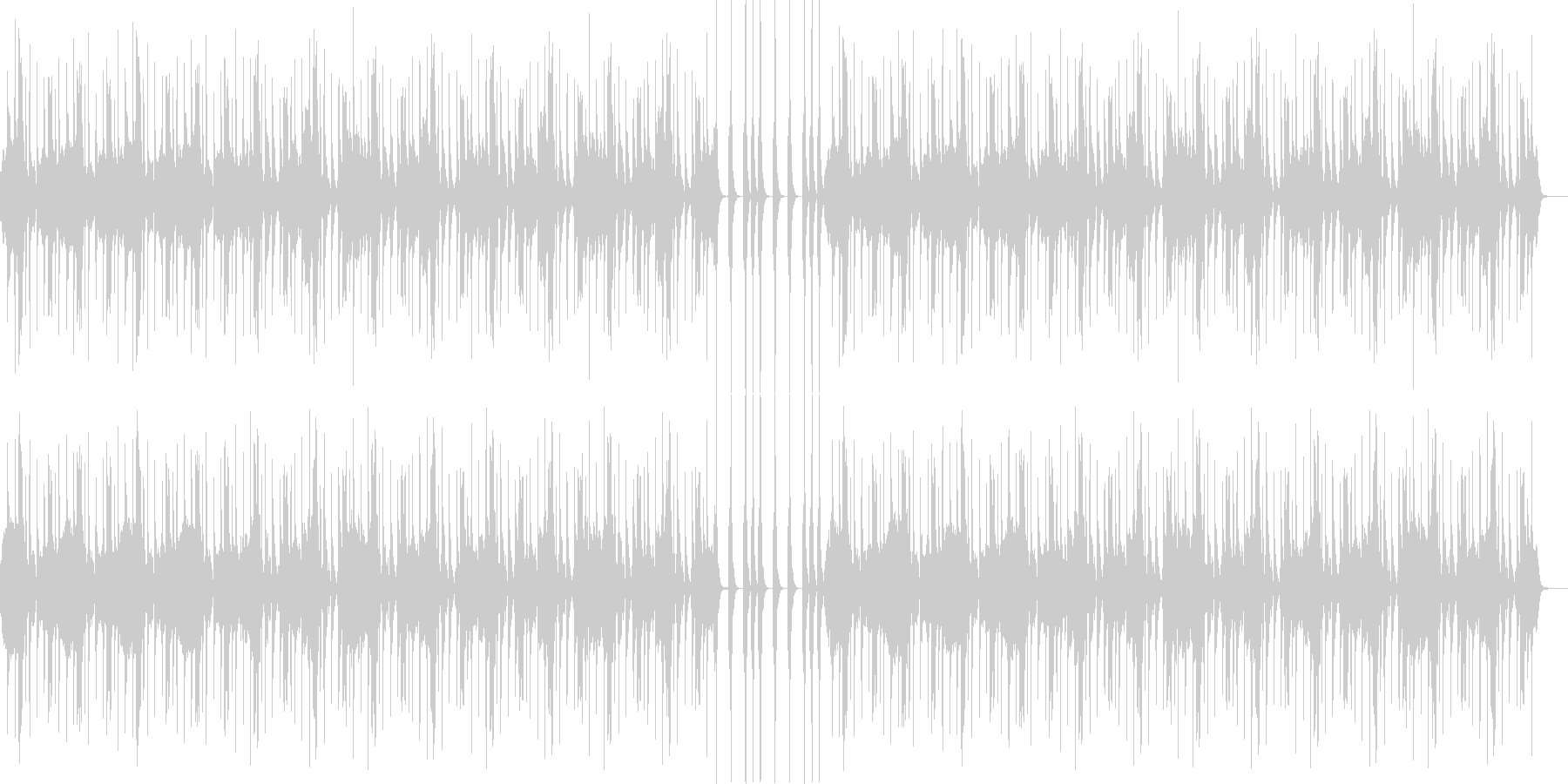 ポップでかわいい、ゆるい、コミカル-09の未再生の波形