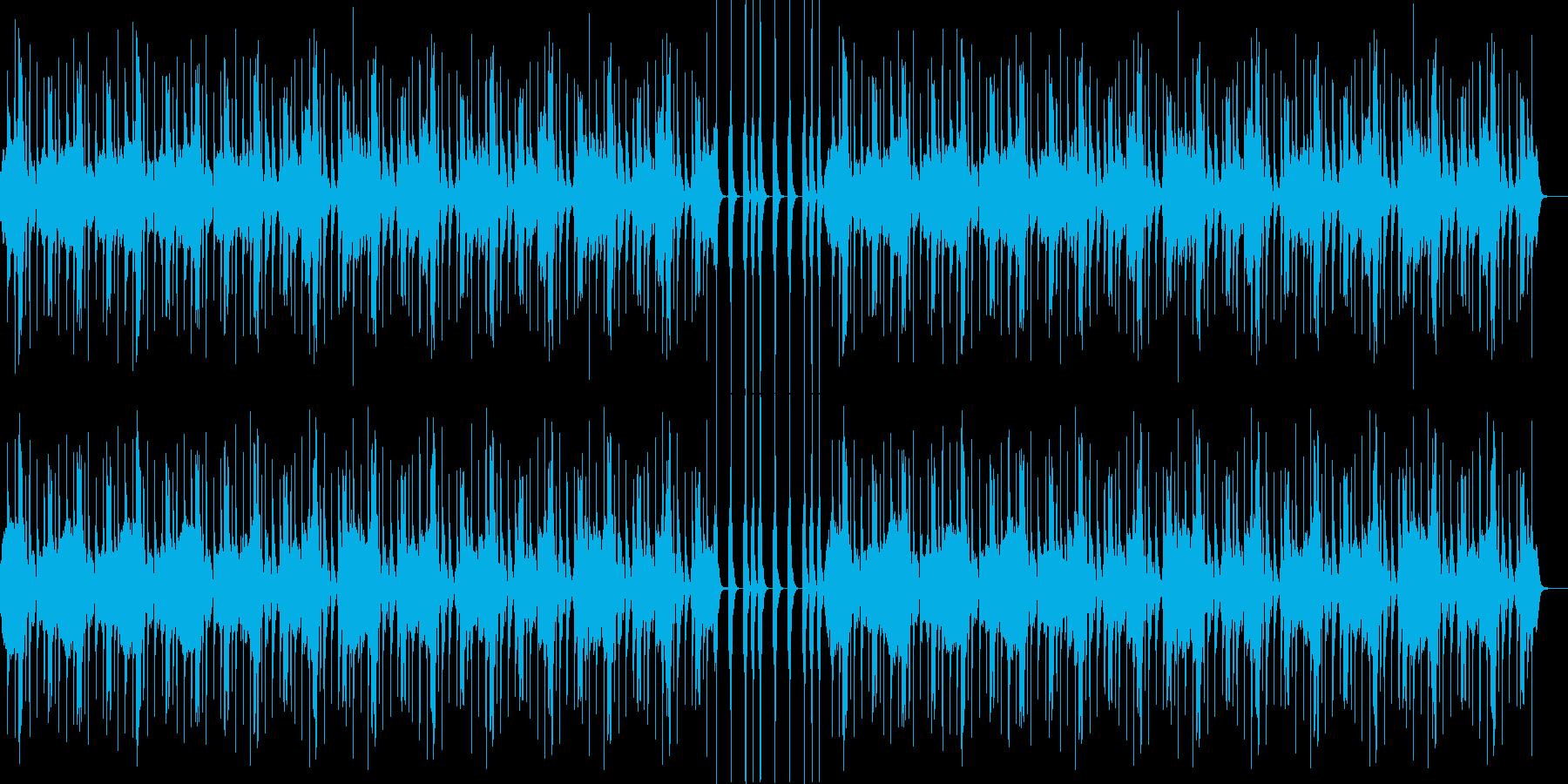 ポップでかわいい、ゆるい、コミカル-09の再生済みの波形