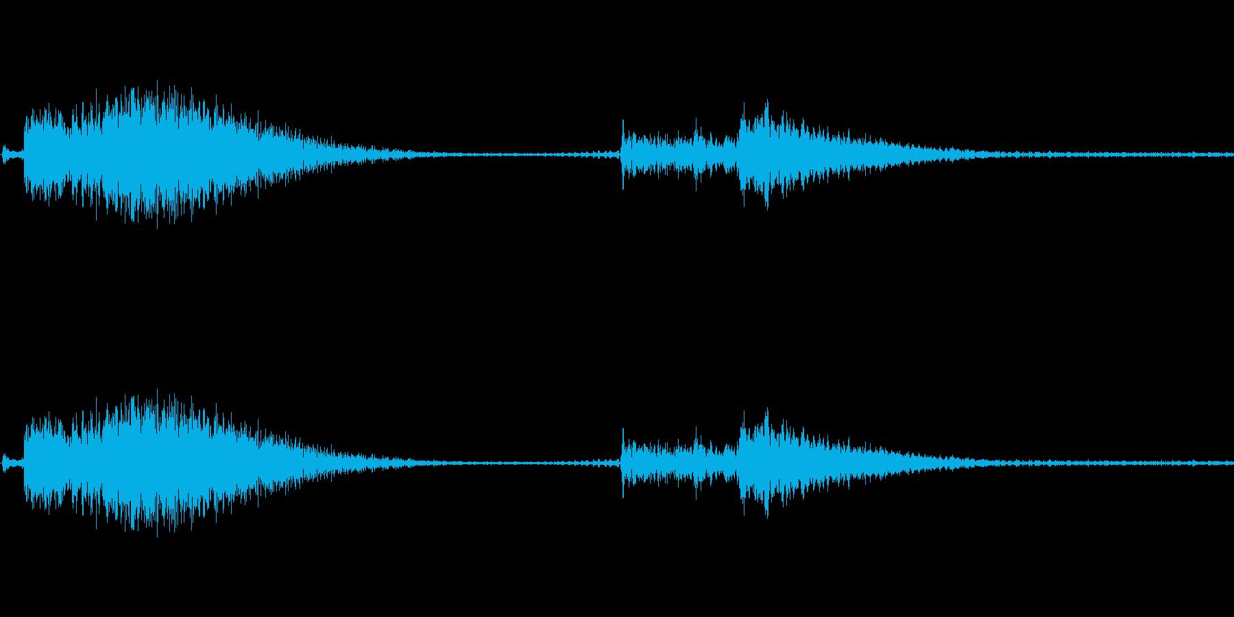 壊れかけの機械が喋っているの再生済みの波形