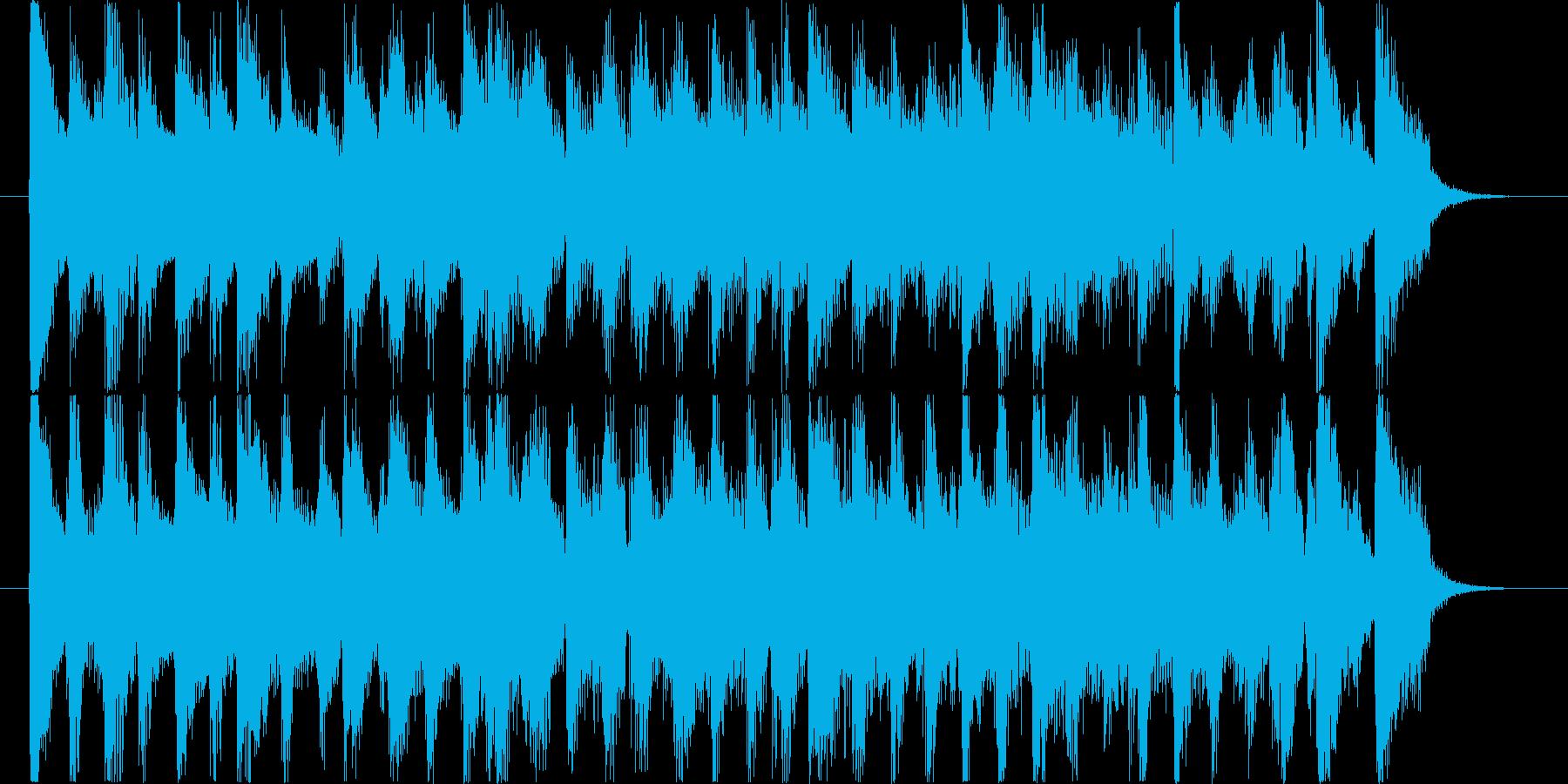 明るく爽やかなCMサイズのポップジャズの再生済みの波形