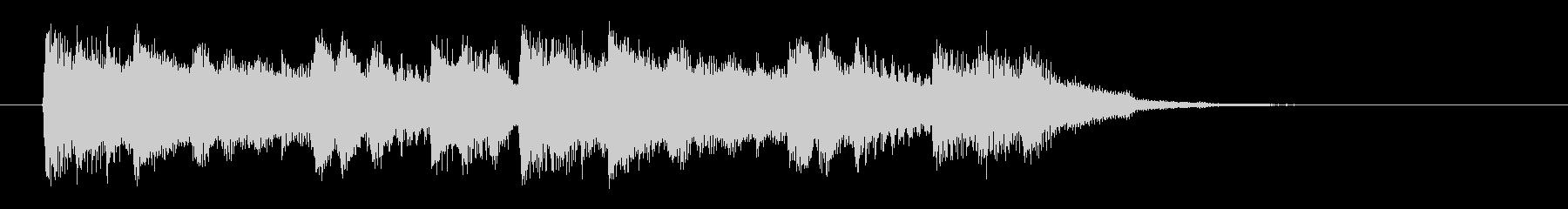 和音が連続する短い効果音の未再生の波形