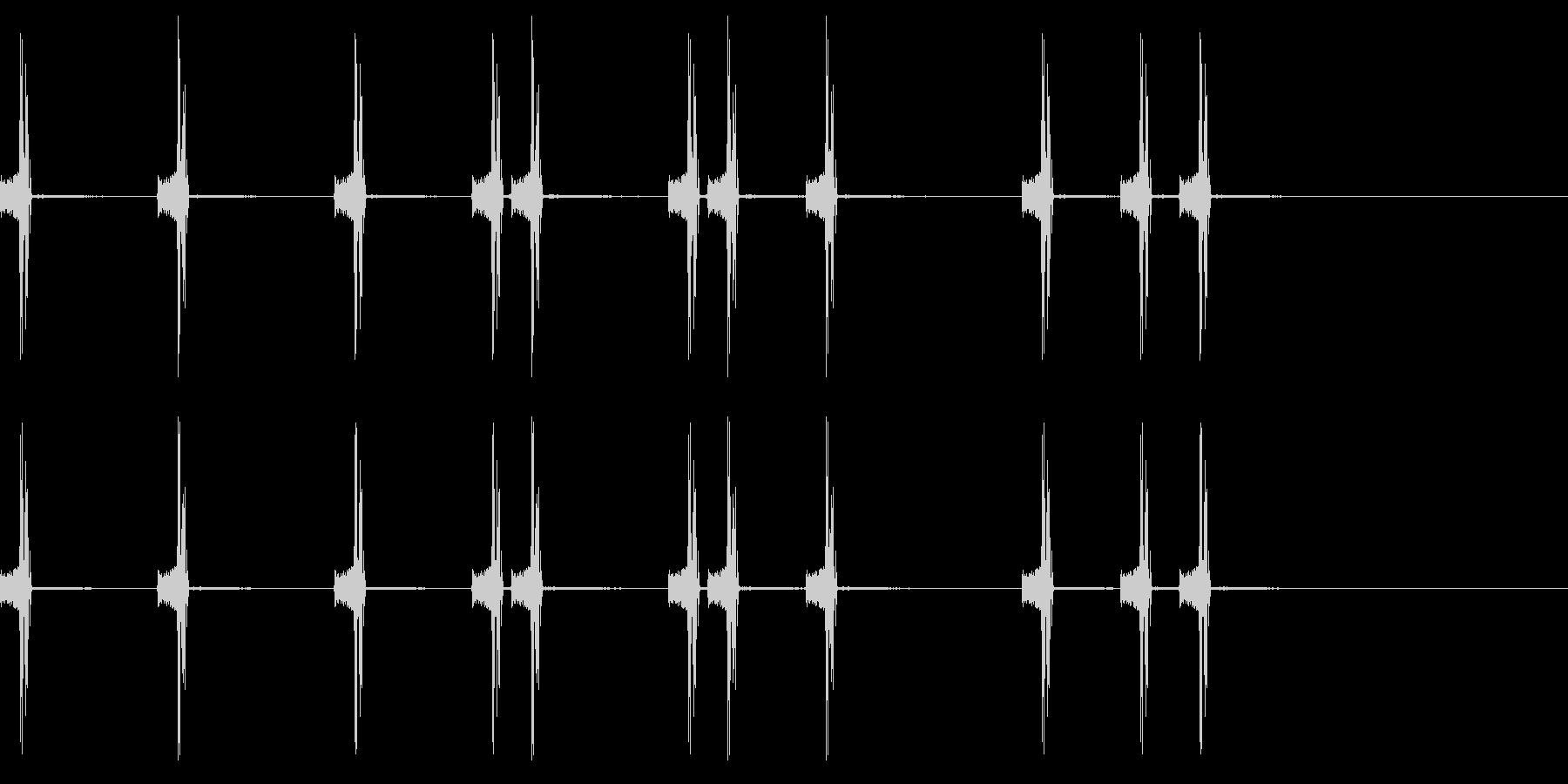 カメラのシャッター音1 の未再生の波形