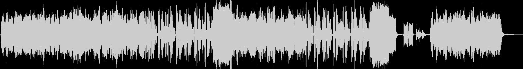 アコーディオンとリコーダーの可愛いBGMの未再生の波形