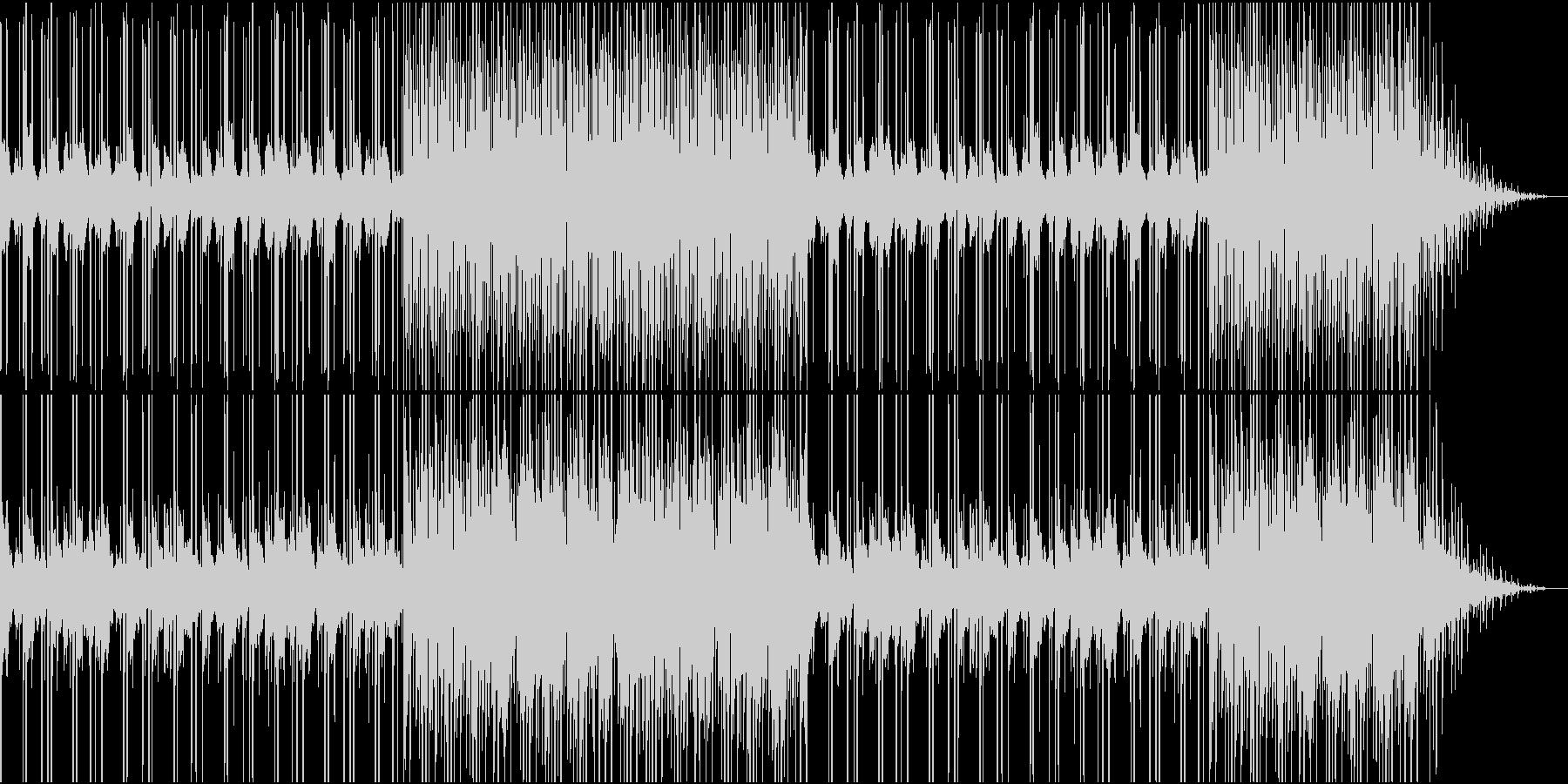 爽やかで心地よい雰囲気のピアノポップの未再生の波形