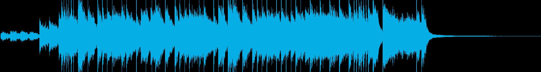 元気溌剌なシンセポップの再生済みの波形