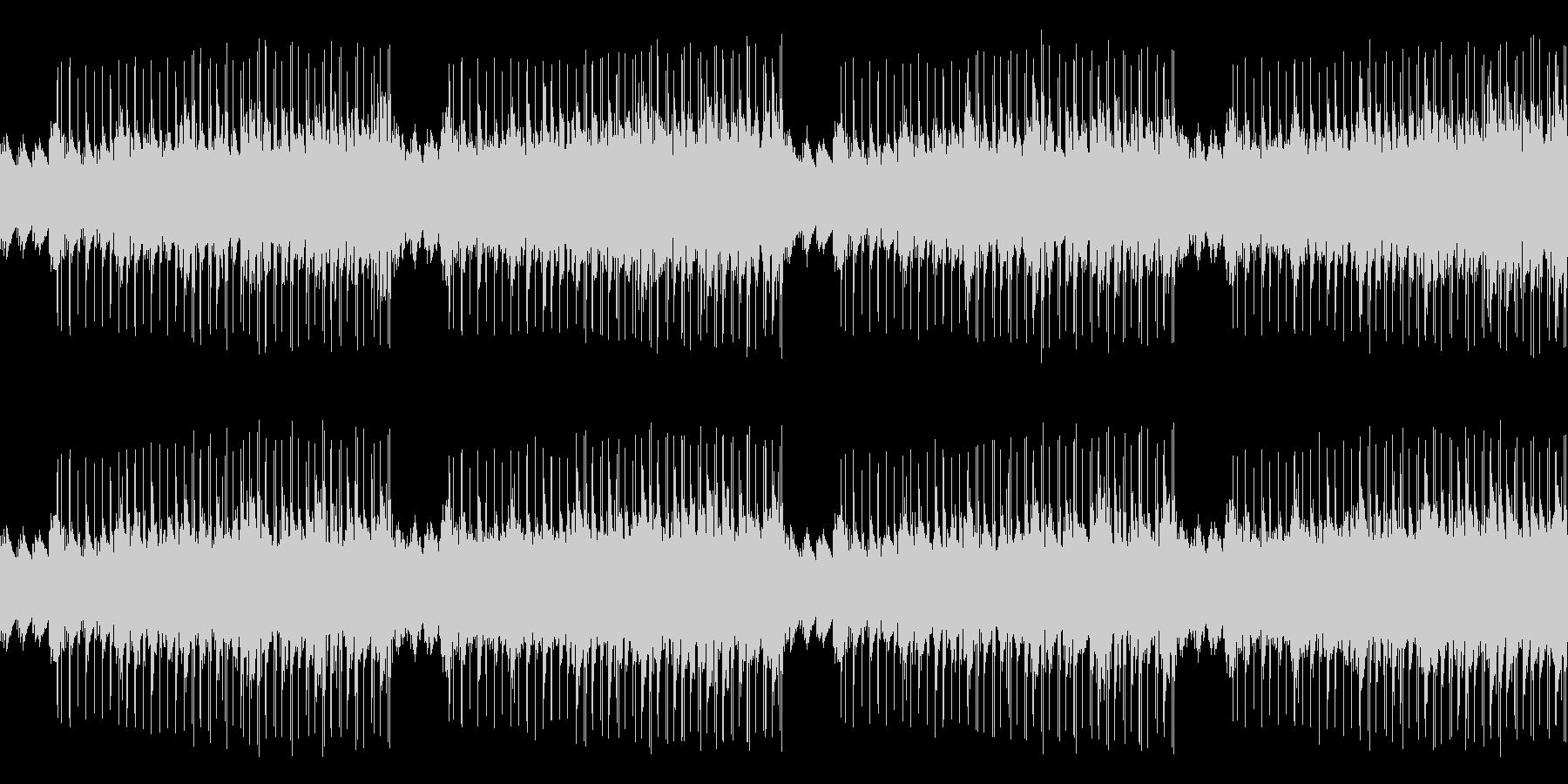 「た」で遊んだ音楽です。の未再生の波形