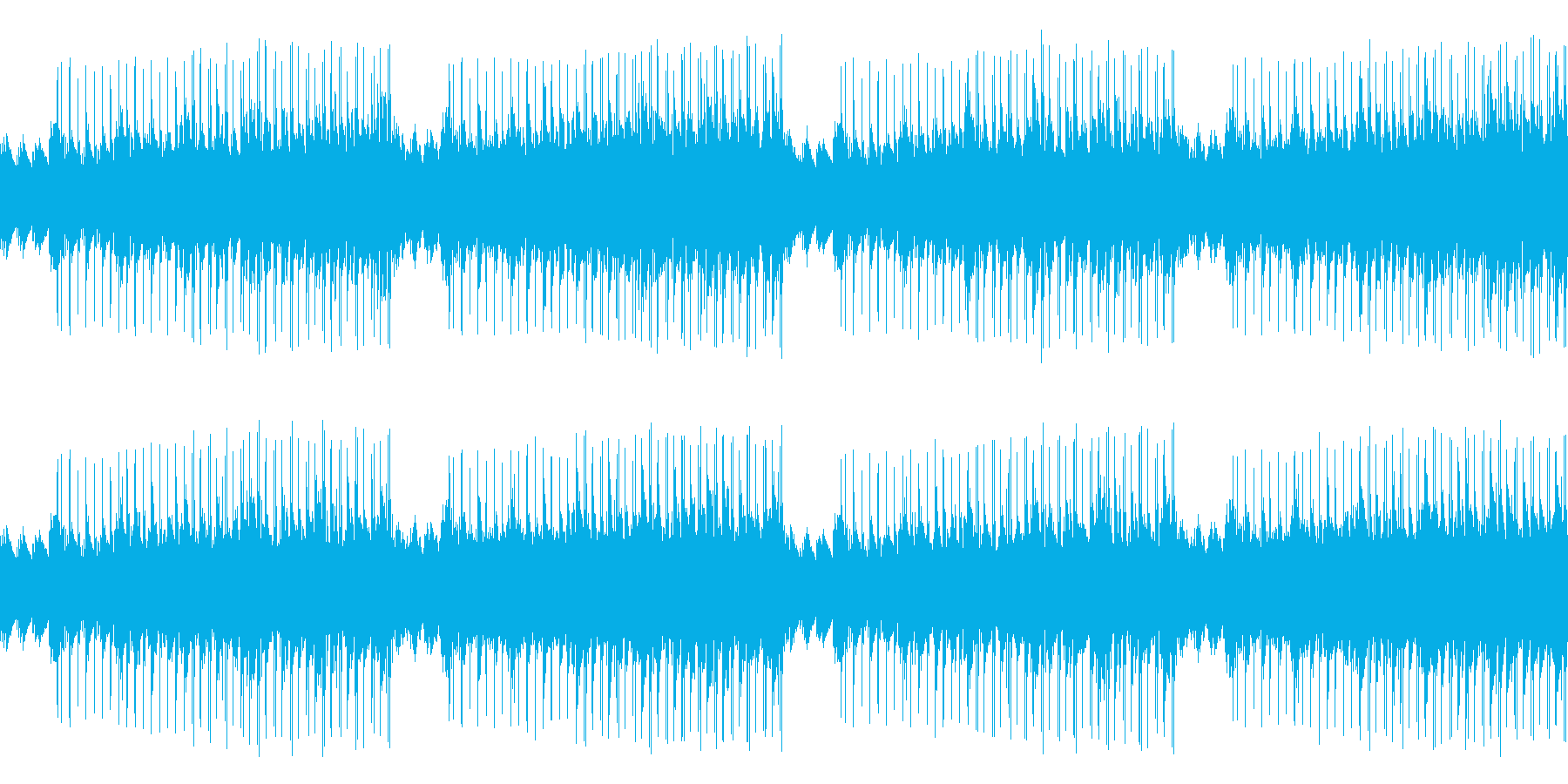 「た」で遊んだ音楽です。の再生済みの波形