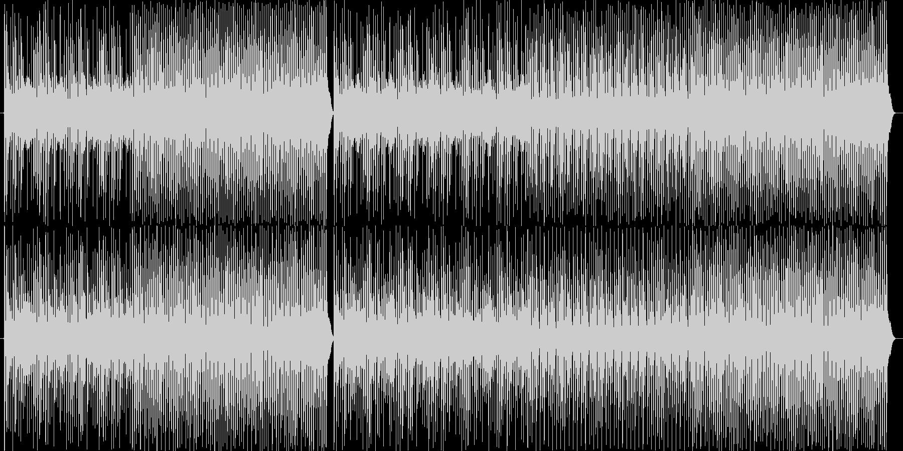 カワイイ、コミカルの未再生の波形