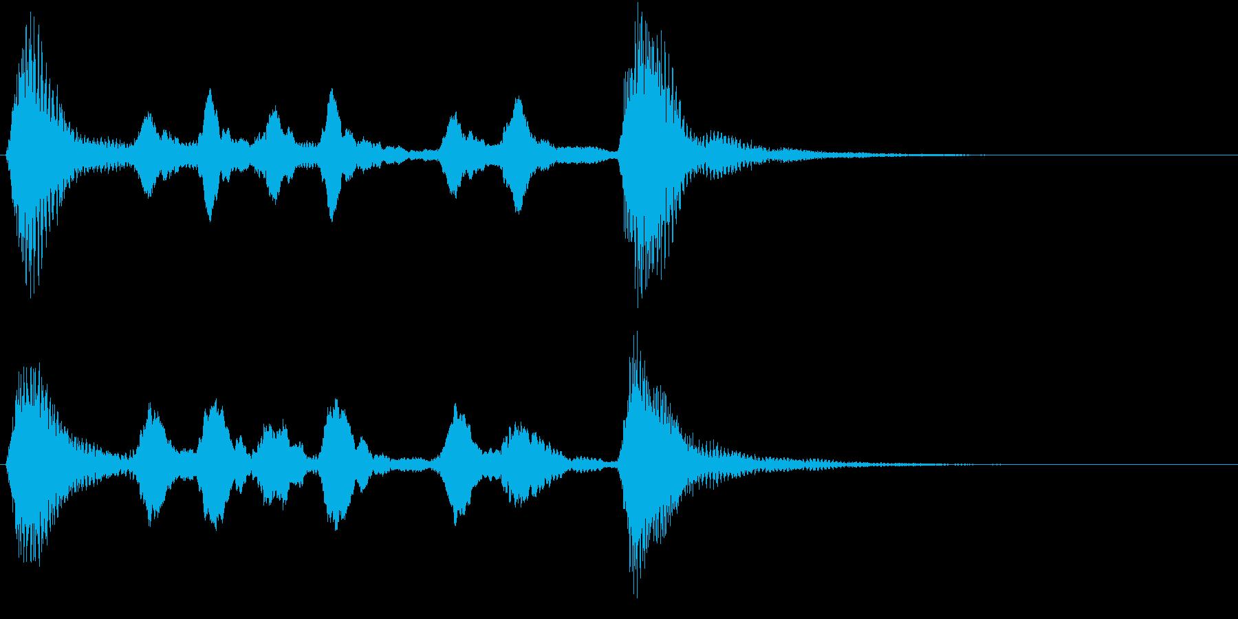 サウンドロゴ、ジングル等の再生済みの波形