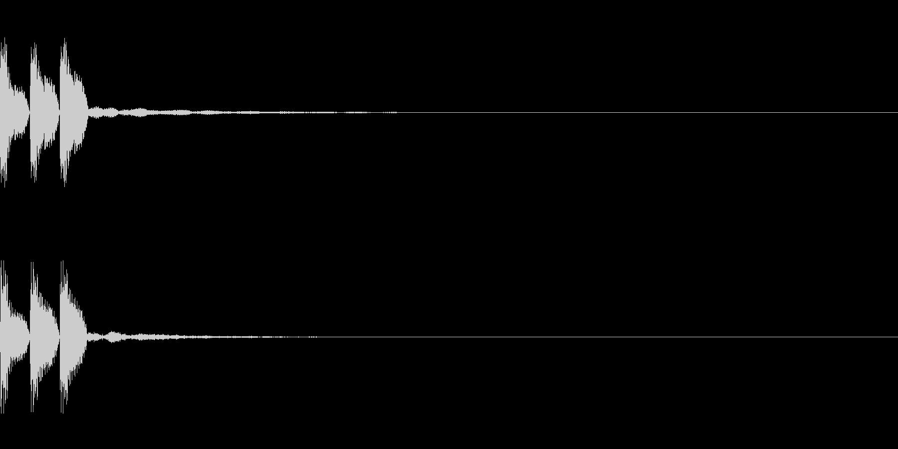 ティン パチスロ MAXBETの未再生の波形