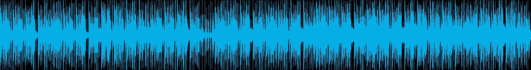 三味線と琴の明るいウキウキする和風BGMの再生済みの波形