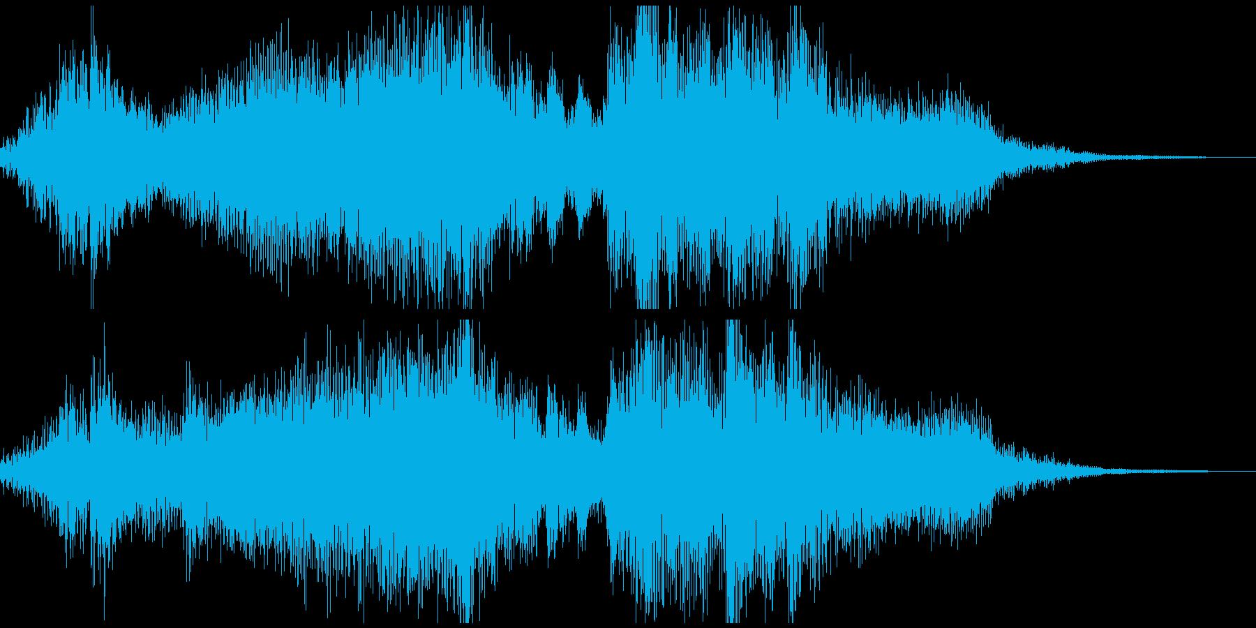 ファンタジーな勝利ジングル 8秒の再生済みの波形