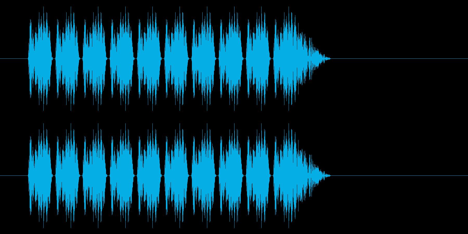 SNES シューティング01-02(発射の再生済みの波形