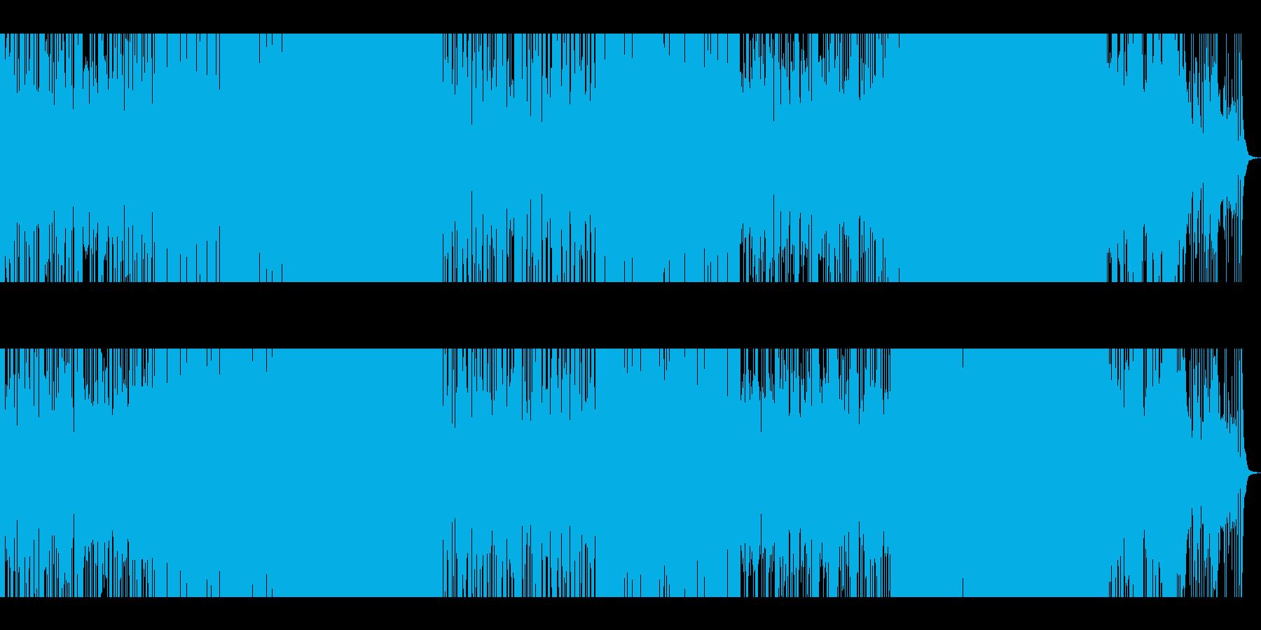 ど真ん中ロック+変拍子の再生済みの波形