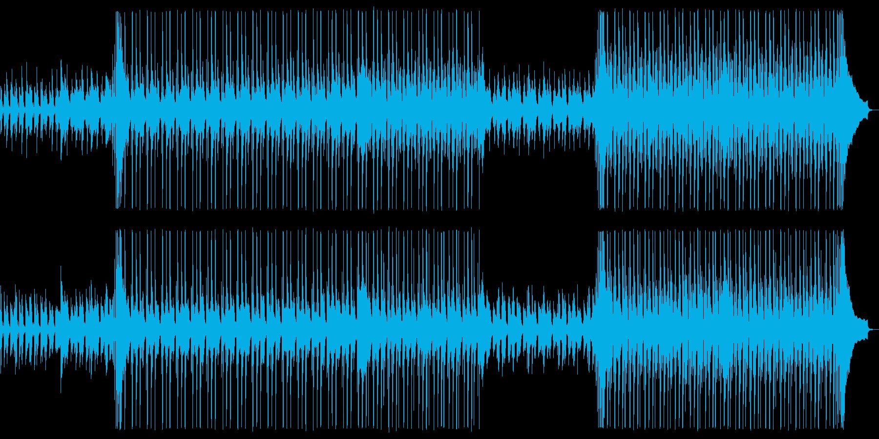 【メロディ抜き】ムービーに最適な爽やか…の再生済みの波形