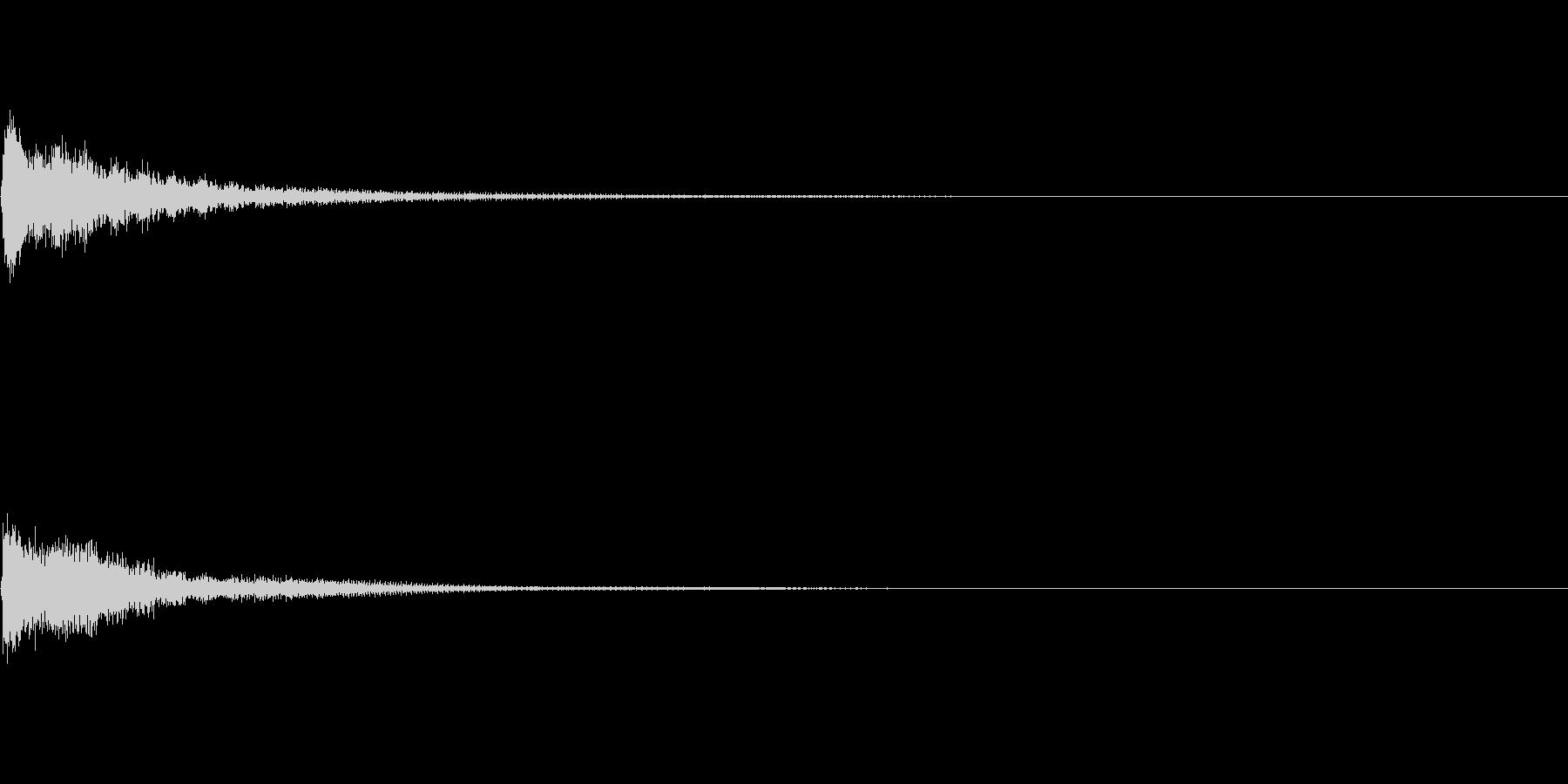 キャンセル 和風03の未再生の波形