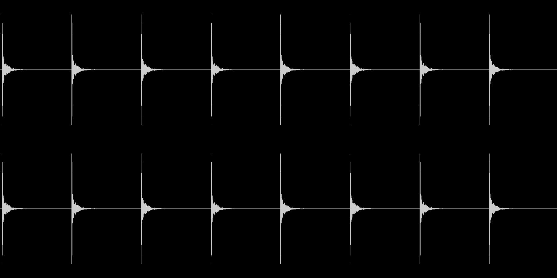 ドラムスティック/シンキングタイムその2の未再生の波形