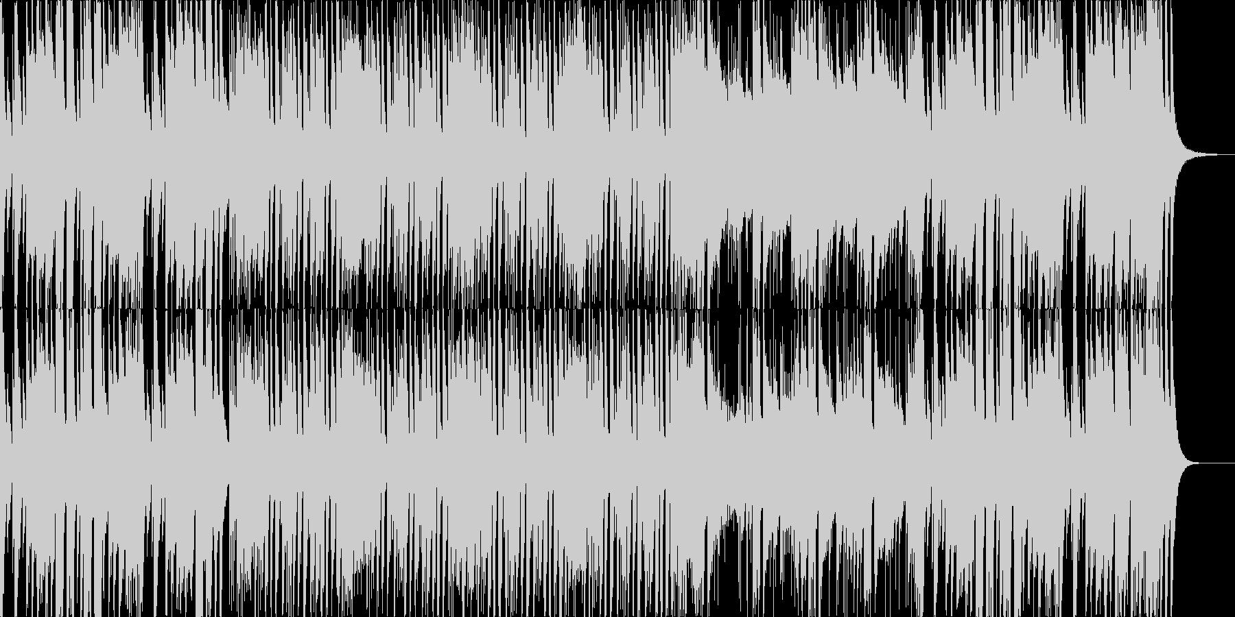 ピアノメインのせわしない曲です。の未再生の波形