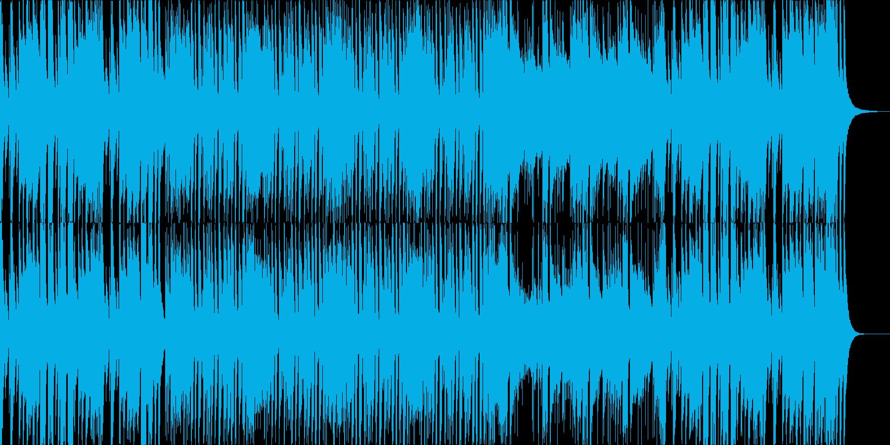 ピアノメインのせわしない曲です。の再生済みの波形