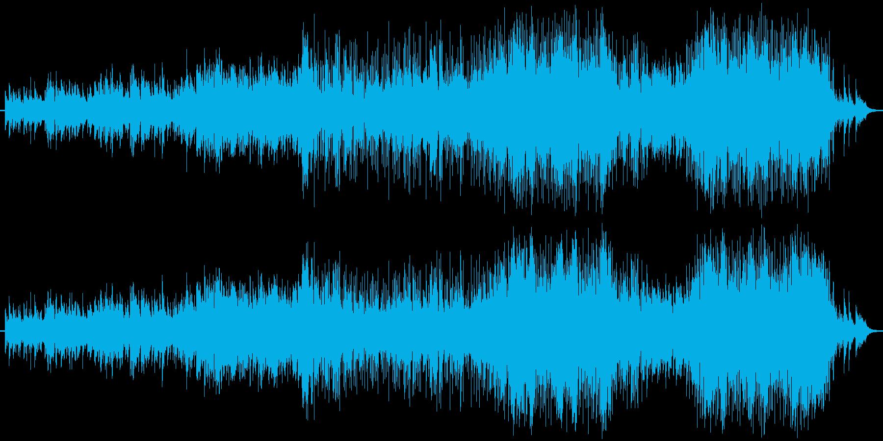 ピアノをメインにしたバラード曲です。の再生済みの波形