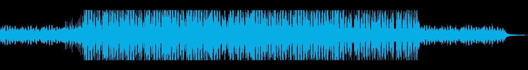 明るさの中に気だるさ漂うテクノポップの再生済みの波形
