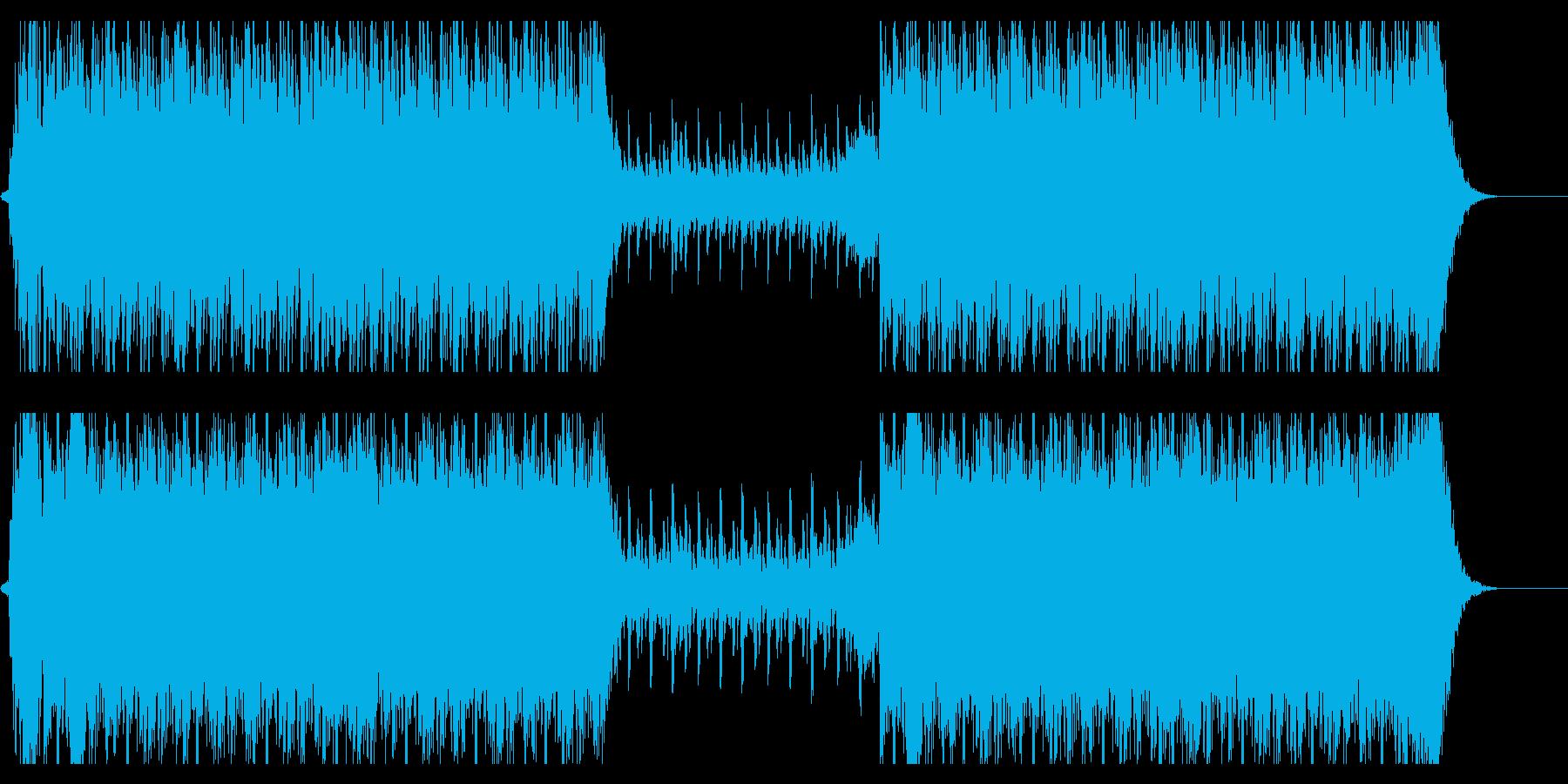 【オーケストラ】緊迫感・疾走感の再生済みの波形