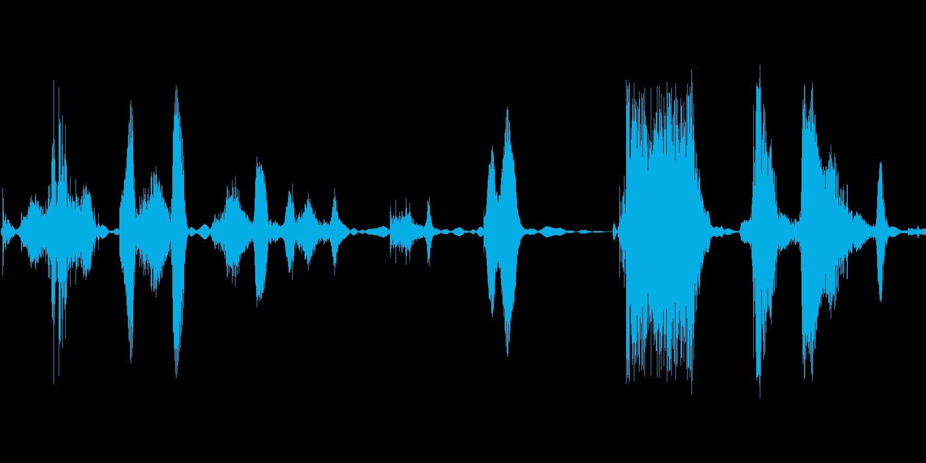 くふふふっ ふふっの再生済みの波形