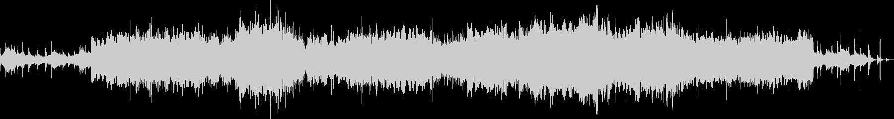弦楽合奏のフレーズをエフェクト処理の未再生の波形