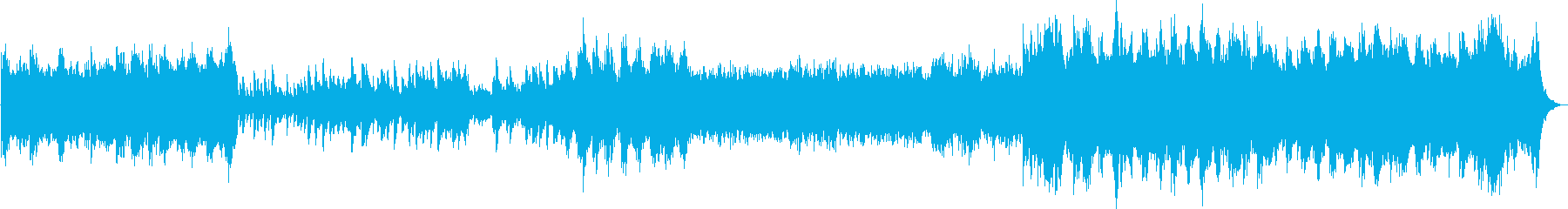 感動的・スケールの大きなドキュメンタリーの再生済みの波形