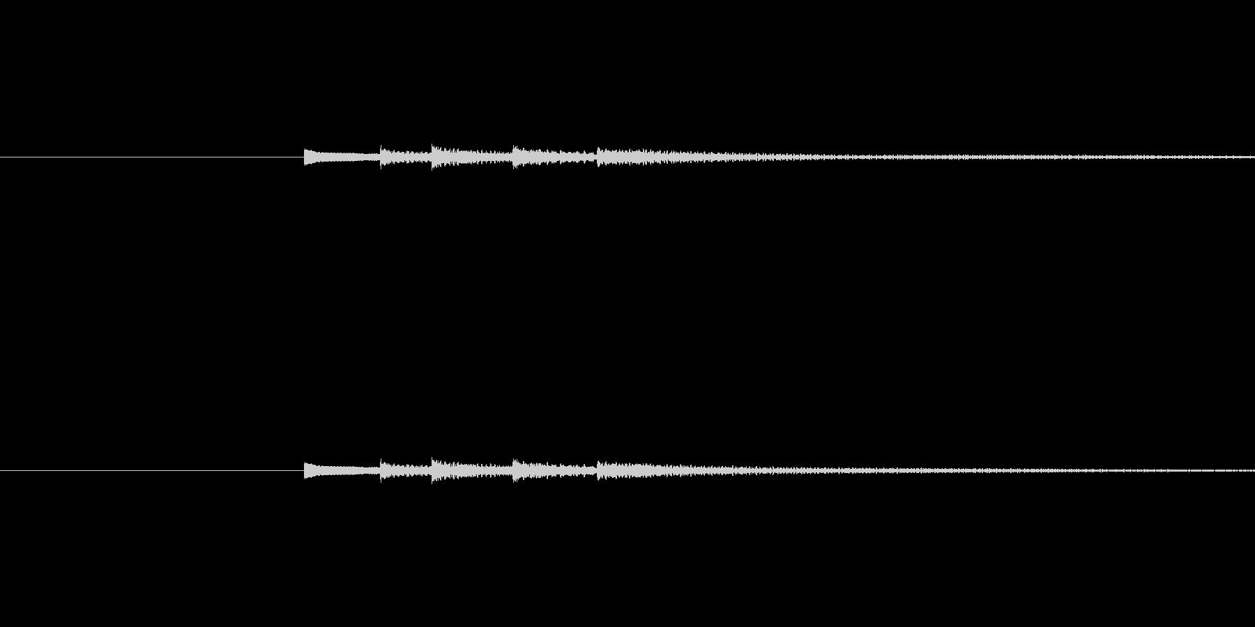 「ドレミファソ♪」というかわいいグロッ…の未再生の波形