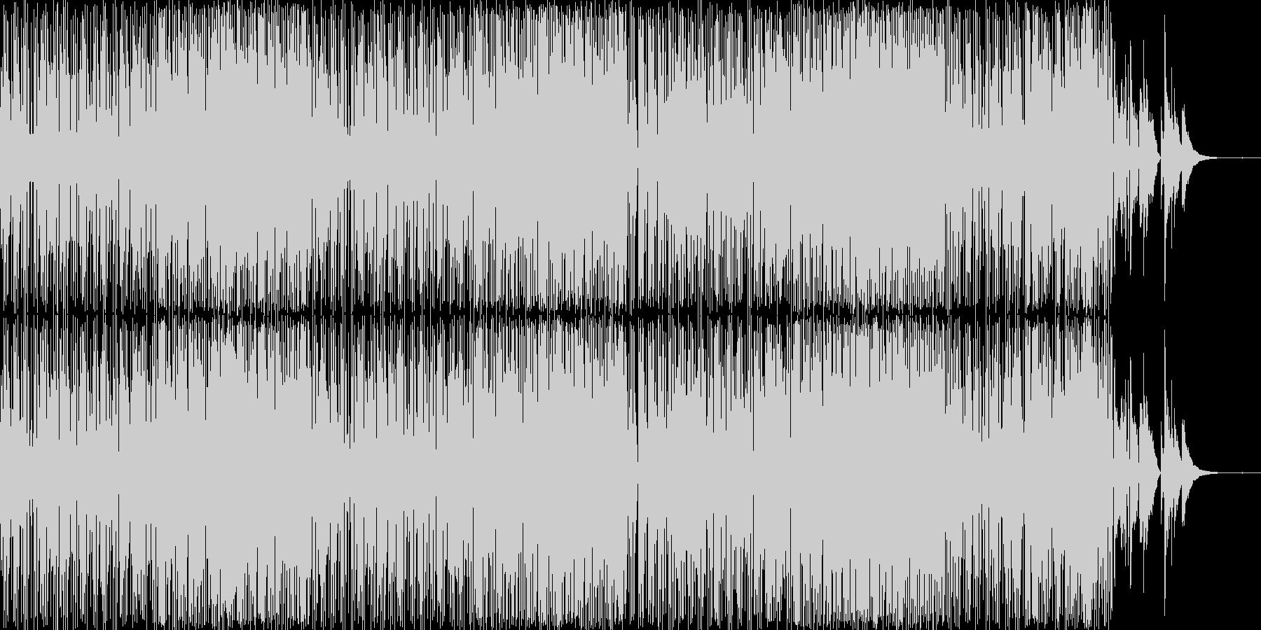 オシャレでちょっとレトロな雰囲気の楽曲…の未再生の波形