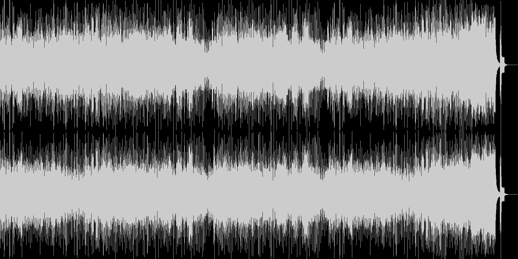 8bitクラシック「熱情」「悲愴」の未再生の波形