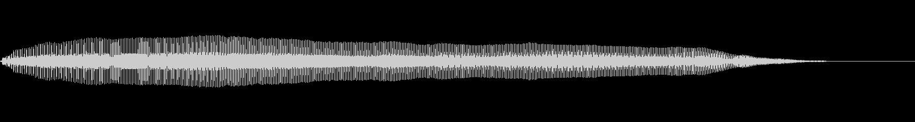 猫の鳴き声 嬉しいの未再生の波形