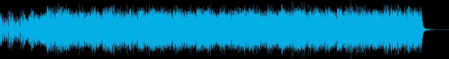 爽やかな風が吹くシンセサイザーポップの再生済みの波形