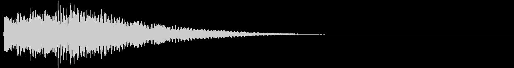 フレーズ系07 文字、スーパー表示(大)の未再生の波形