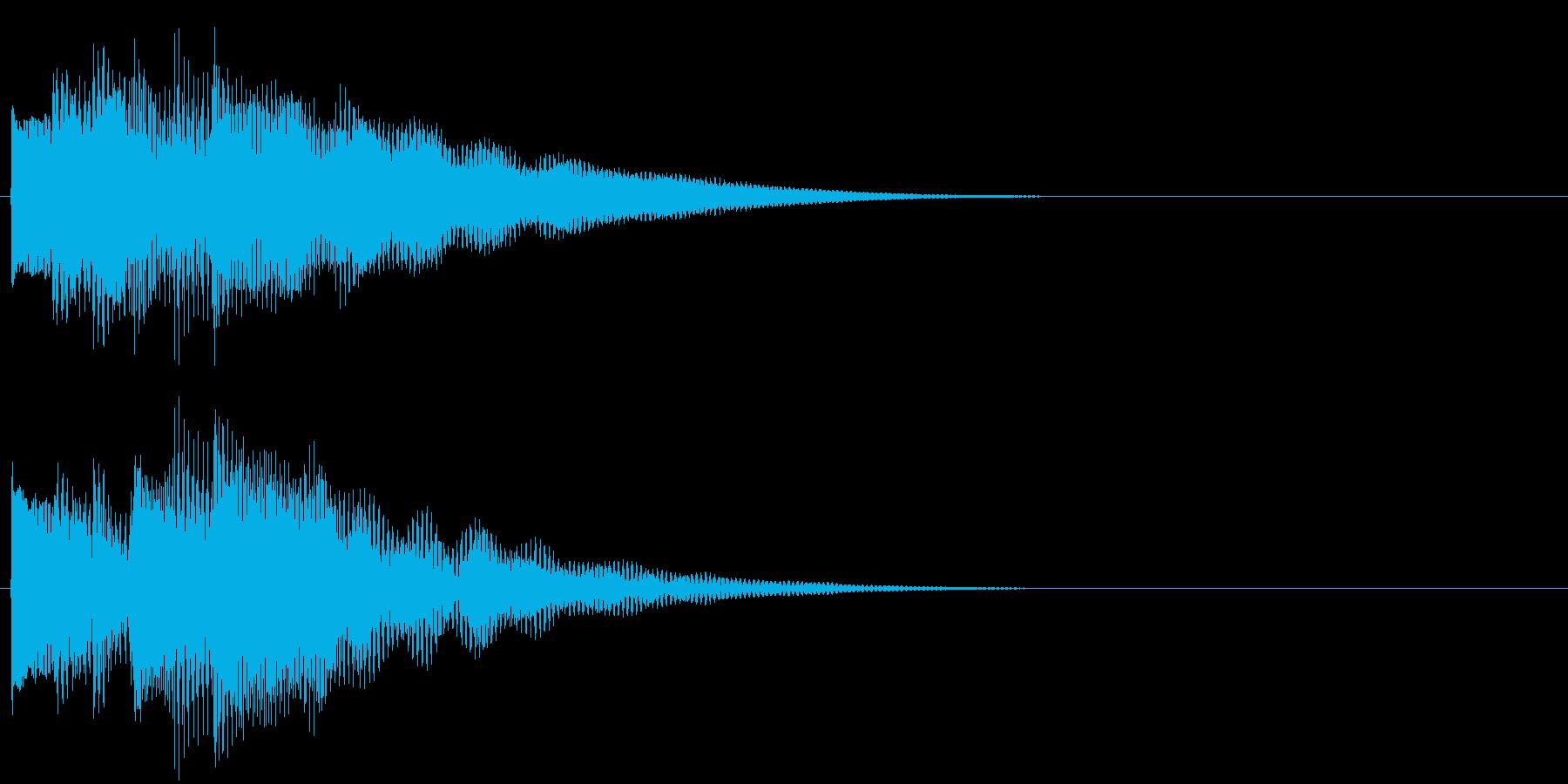 フレーズ系07 文字、スーパー表示(大)の再生済みの波形
