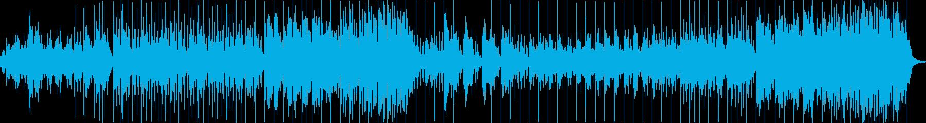 メロディの綺麗なオルゴール曲オケ伴奏付きの再生済みの波形