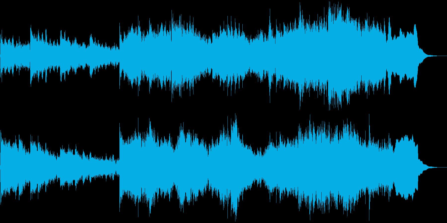 温かい曲 世界を旅してるみたいな曲の再生済みの波形