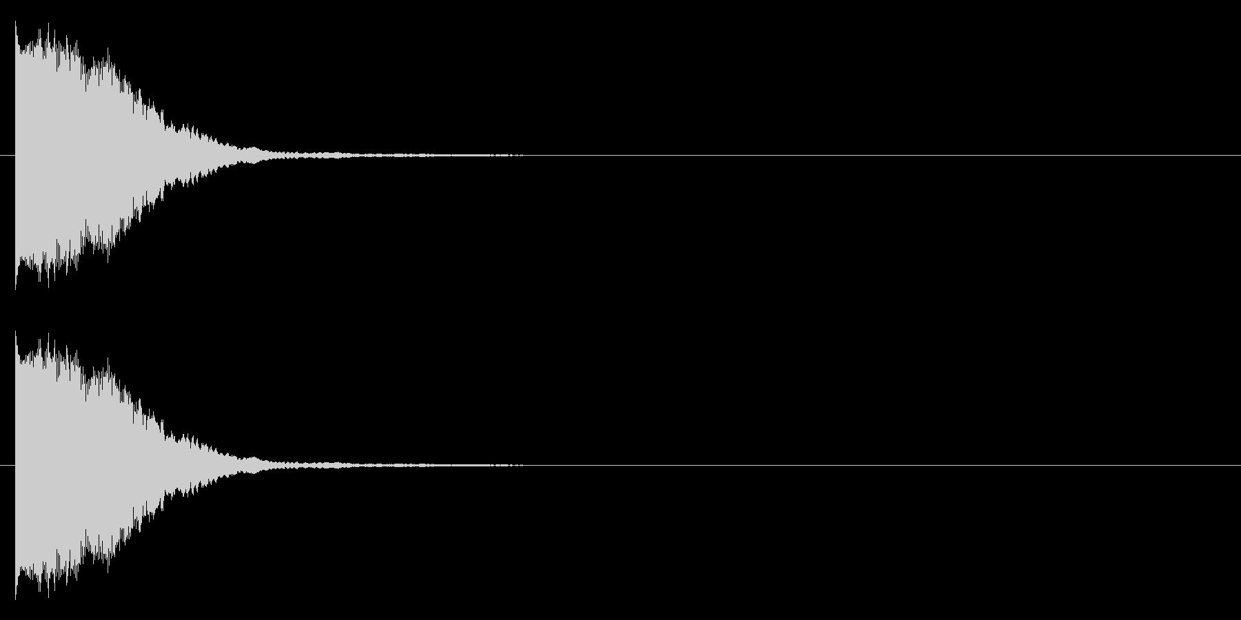 プィヨンーの未再生の波形