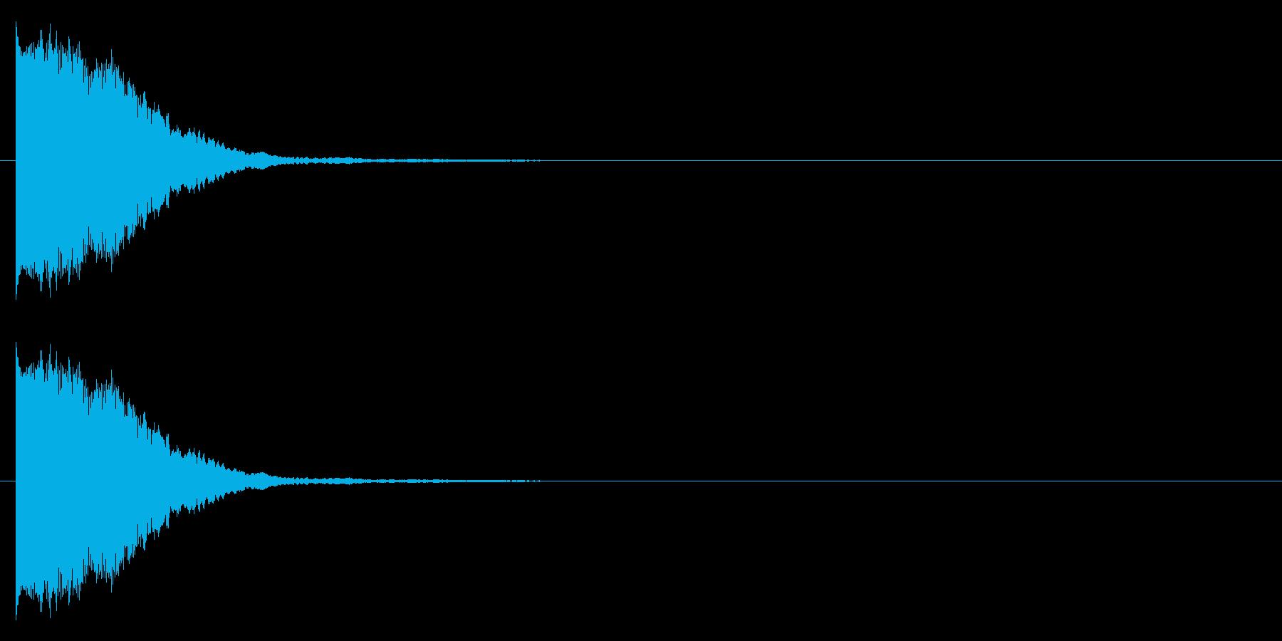 プィヨンーの再生済みの波形