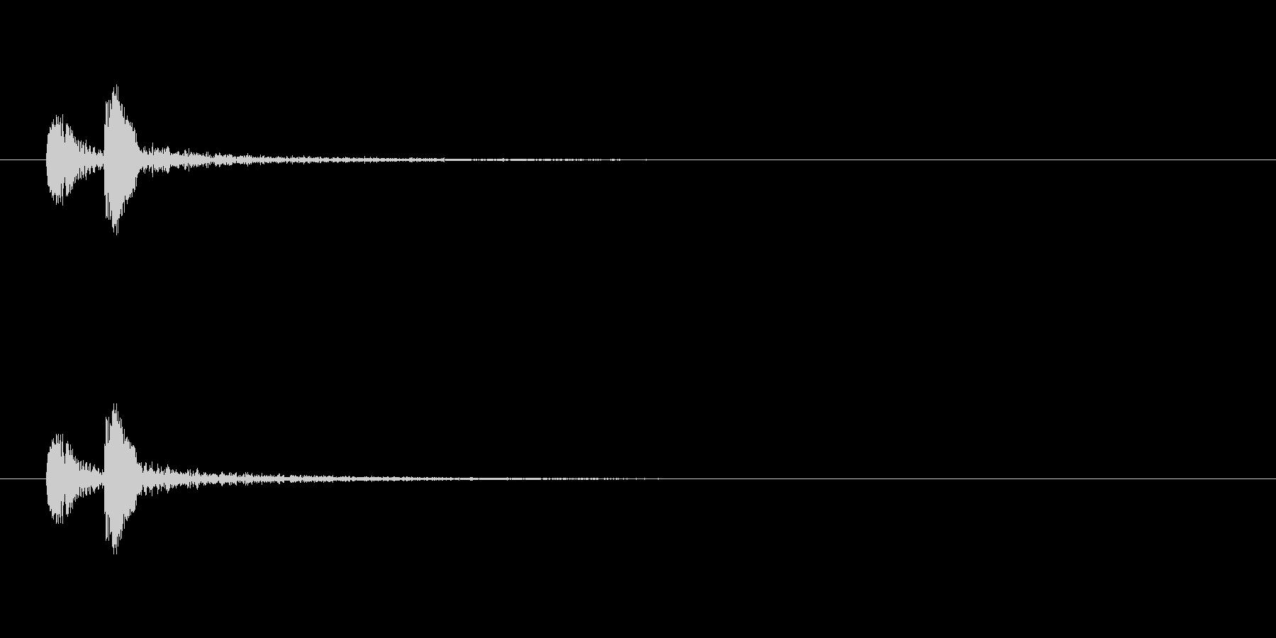 【ボタン ポチッ02-2】の未再生の波形