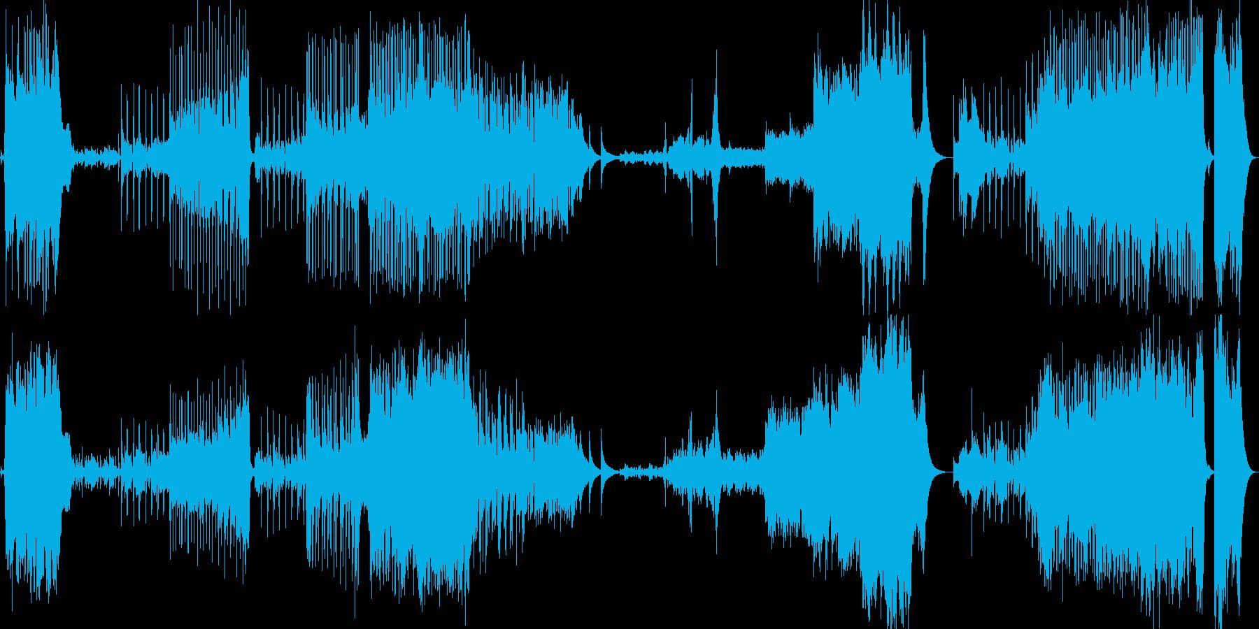 時計塔をイメージしたインストの再生済みの波形