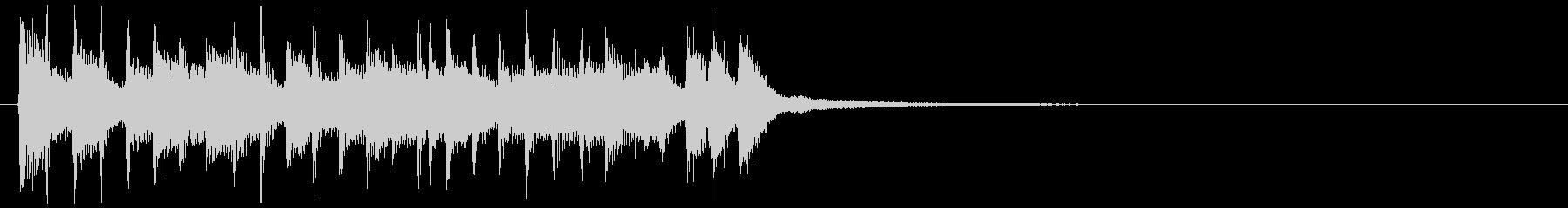 【JG】オープニングにあうジングル01の未再生の波形