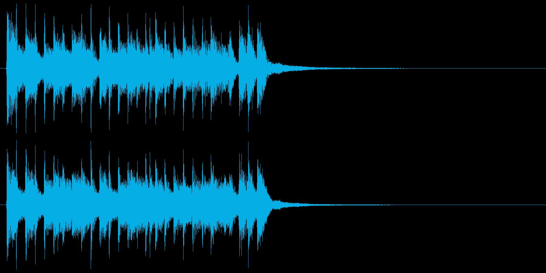 【JG】オープニングにあうジングル01の再生済みの波形